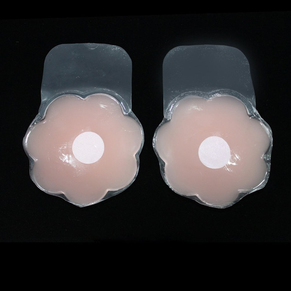 Silicone Invisible Lifting Nipples Pulling Chest Plaster Gathered Anti-Lighting Chest Nipple Stickers