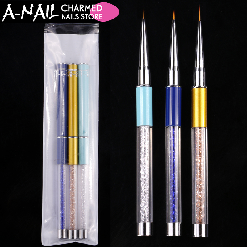 Drawing Lines In Crystal Reports : Aliexpress buy mm nail brush painting flower