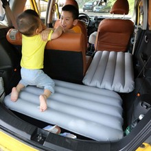 Car inflatable bed Double-sided sanding cloth childrens air mattress car accessories