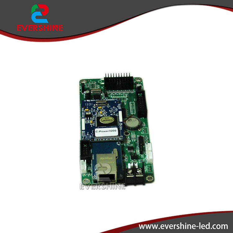 ФОТО Lumen C-power3200 With Net Por and Serial Port  P10 LED Screen Card  Support Mono/RG Color  1024*32pixels