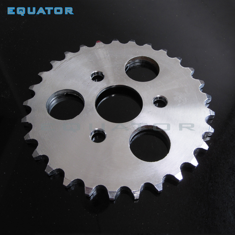 Motorcycle parts Small Monkey Motorcycle Modified 420 # 29 35 37 Teeth Large Chain sprocket gear wheel Plate Wheel Discs