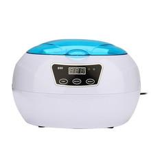 220 v digital limpiador ultrasónico máquina de ultra sonic temporizador tanque baño cesto de limpieza casa aparatos de limpieza