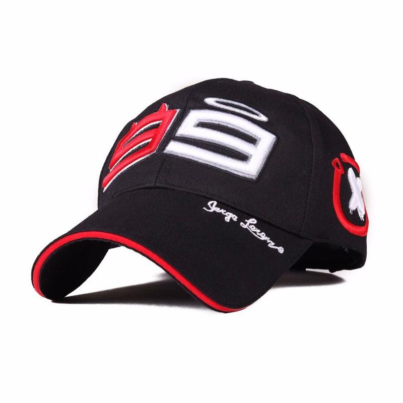 Moto Gp 99 Jorge Lorenzo Hats For Men Racing Cap Cotton Brand Motorcycle Racing Baseball Caps Car Sun Snapback Black Hats