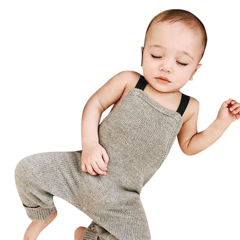 MUQGEW Baby Girl Sleeveless Bodysuit 2017 Square Collar Knitted Cotton Jumpsuit Outfits Clothes Overalls Body Menina Q06 headband casual romper jumpsuit baby girl clothes gold polka dot cotton sleeveless outfits set baby girl 3 6 9 12 18 24 monthes