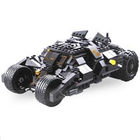 DECOOL 7105 BATMAN Super Heroes Batman Chariot Tumbler Figure Blocks Building Toys For Children Compatible Legoe Bricks