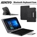 Универсальная беспроводная Bluetooth клавиатура  мышь  тачпад  чехол для chuwi Hi9 pro/hi9 8 4