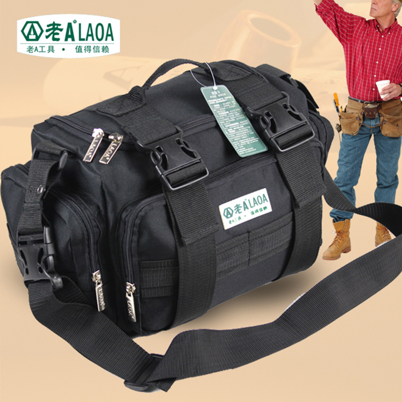 LAOA Multifunction Tool Bag Large Capacity Professional Repair Tools Bag Messenger Bag
