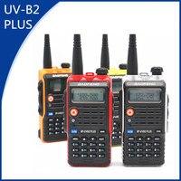 עבור baofeng Baofeng UVB2 פלוס 8W צריכת חשמל גבוהה FM משדר 4800mah סוללה BF-UVB2 פלוס עבור CB רדיו נייד רדיו UVB2 מכשיר הקשר (1)