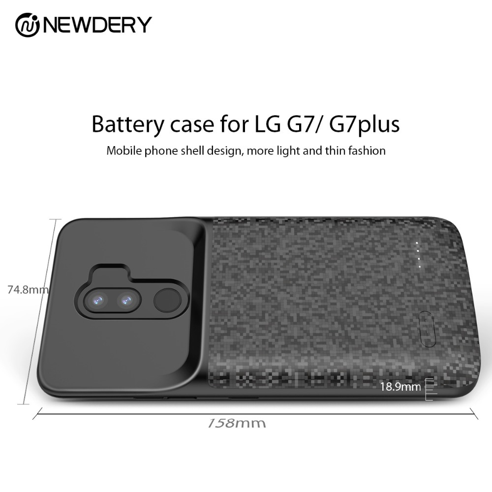 check out 2e455 c9aab US $27.0 55% OFF New arrival Gift Battery case for LG G7 Thin Q G7 plus  4700mAh full cover charger power phone case for G7+ Thin Q power bank-in ...