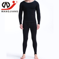 WJ Winter Men Long Johns Mens Thermal Underwear Sets Plus Long John Thermal Undershirts Trousers Cotton