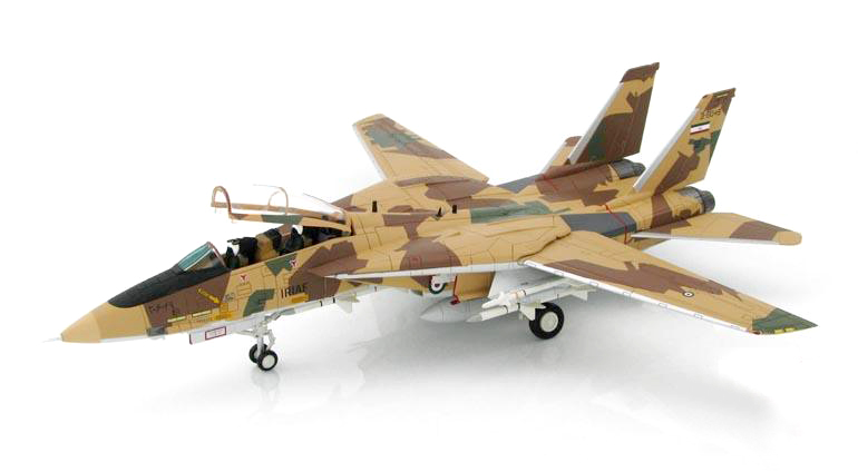 HM 1/72 Tomcat fighter F-14AM Iranian Air Force HA 5205 Favorites Model force f 713065s