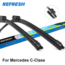Refresh Wiper Blades for Mercedes Benz C-Class W203 / W204 / W205 Model Year from 2000 to Present(China)
