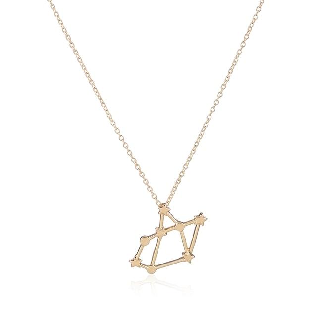10pcslot Sagittarius Zodiac Sign Astrology Necklace Constellation