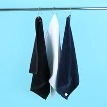 Хлопковое полотенце для гольфа и спорта 1 шт мочалка с металлический