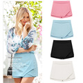 2016 summer styler high waist chiffon shorts skirts women 4 colors candy color for girls