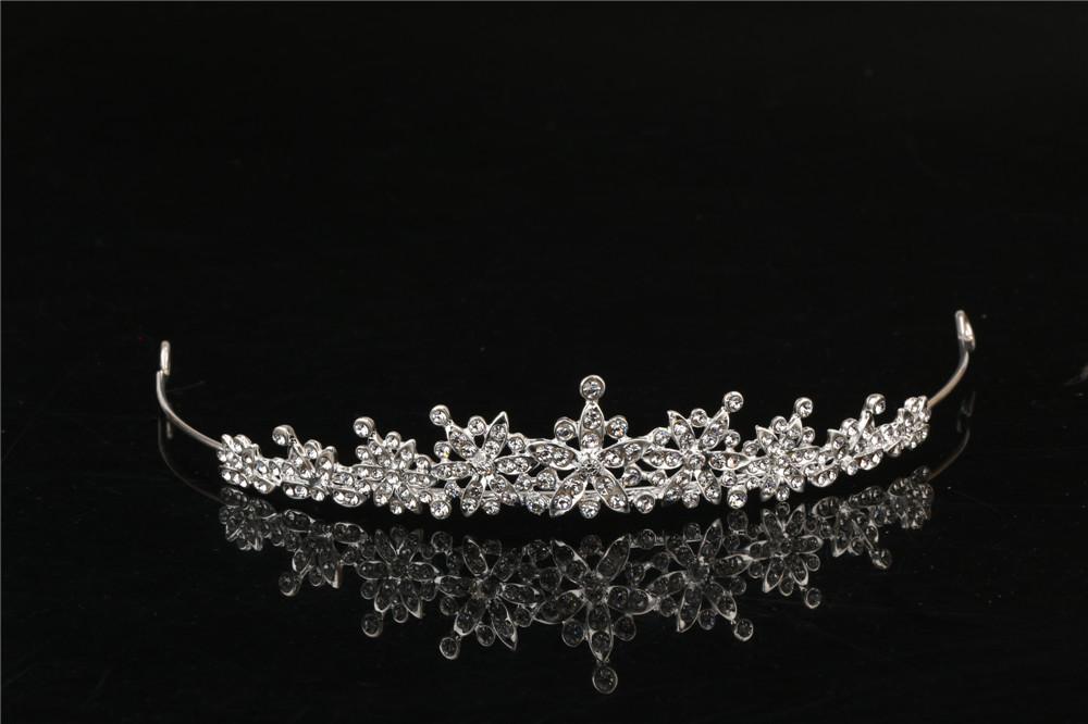 3 Designs Fashion Crystal Wedding Bridal Tiara Crown For Women Prom Diadem Hair Ornaments Wedding Bride hair Jewelry accessories 1
