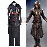Фильм Assassin's Creed Каллум Линч Косплэй костюм Assassins Creed Костюмы взрослых Для мужчин Хеллоуин костюм полный комплект индивидуальный заказ