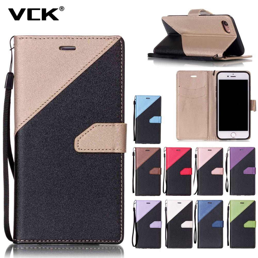 For LG 2017 K13 K4 K8 K10 2017 G6 V20 Stylo 3 K7 K10 Stylus 2 LS775 Leather Wallet Flip Case Fashion Hit Color Slot Cover