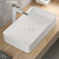 Rectangular concrete sink silicone mold bathroom cement sink mold