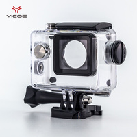 Diving Waterproof Case Charger Shell With USB Cable For SJCAM SJ4000 WiFi Motorcycle Sj7000 EKEN H9