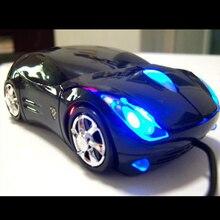 Etmakit милые Лидер продаж 1200 точек/дюйм, проводная Мышь компьютерных мышей моды супер автомобиль в форме игры Мыши 2,4 ГГц оптическая мышь для ПК