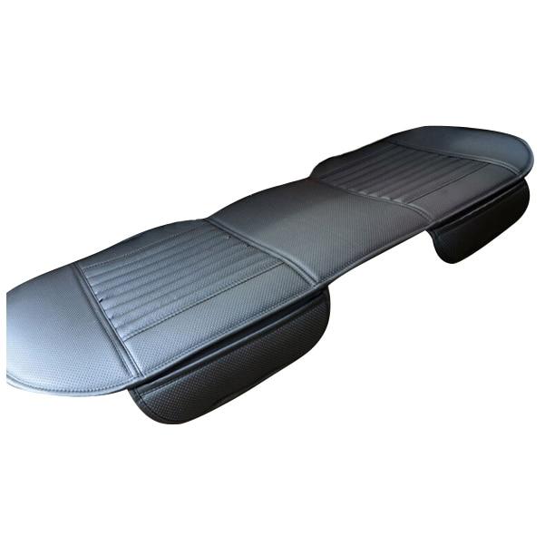 Авто-универсальный PU Кожа Длинные заднее сиденье автомобиля сиденья чехлы салона чехлы на сиденья мат для авто офис чай
