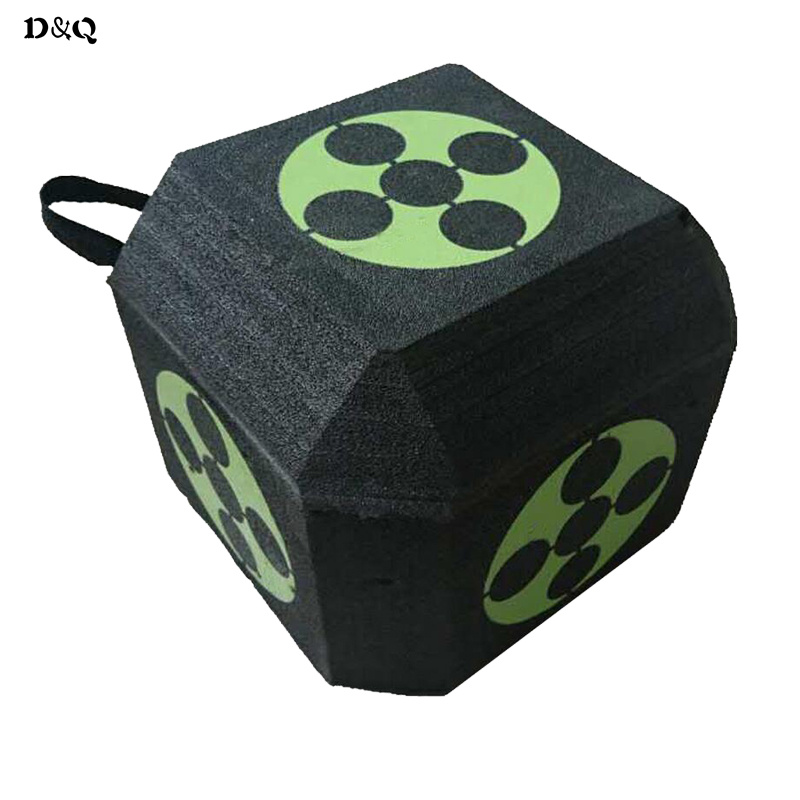 Archery 3D Dice Target 23CM 18 Sides for Bow and Arrow Hunting Shooting Target Training Practice Sport Games with XPE Material wholesale archery equipment hunting carbon arrow 31 400 spine for takedown bow targeting 50pcs