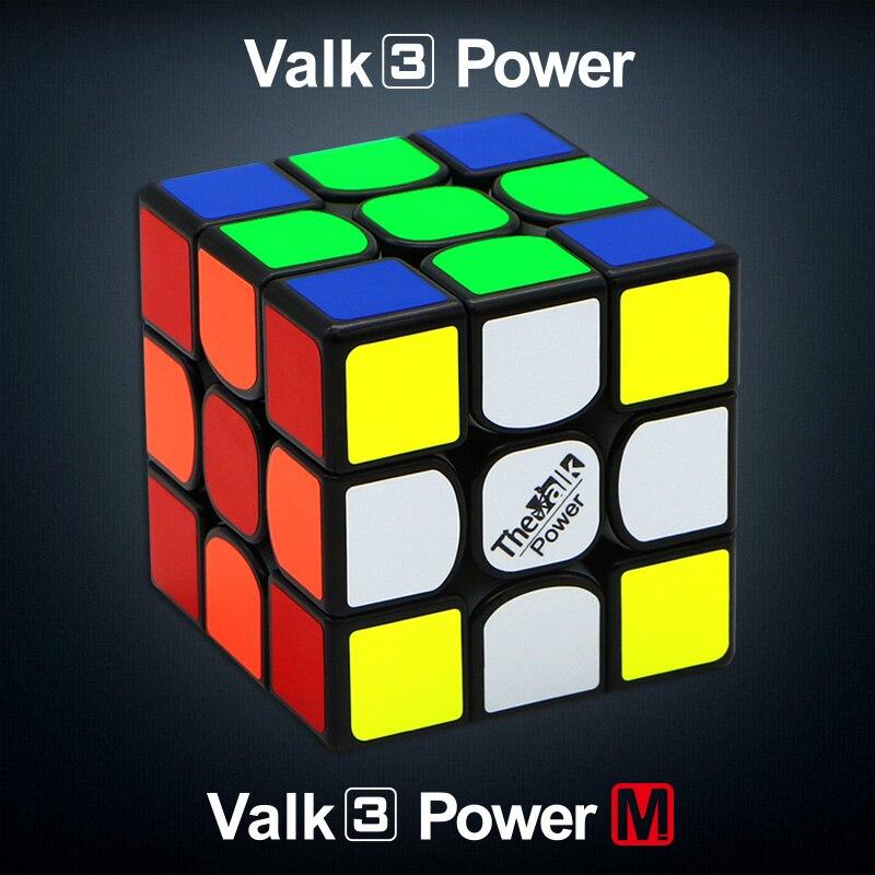 QiYi Valk3 Standard/Valk3 Puissance/Valk3 Puissance M Magnétique Vitesse Puzzle Cube Professionnel Drôle Cube Jouet Éducatif Pour enfants