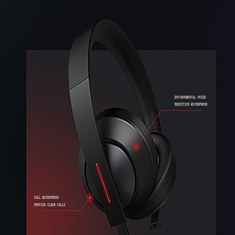 Nouveau Xiao mi casque de gaming 7.1 mi casque de jeu Virtuel Surround Stéréo Avec Rétro-Éclairé Anti-bruit Casque Pour PC Portable Téléphone - 2
