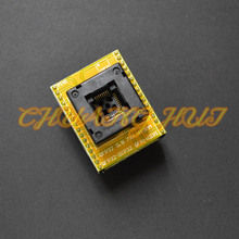IC QFP32 to DIP32 Programming Adapter TQFP32 Programming Adapter test socket 1pin-1pin Applicable to general programmers free shipping tqfp32 qfp32 lqfp32 to dip28 adapter socket support atmega8 atmega8a atmega328 avr mcu tl866a tl866cs