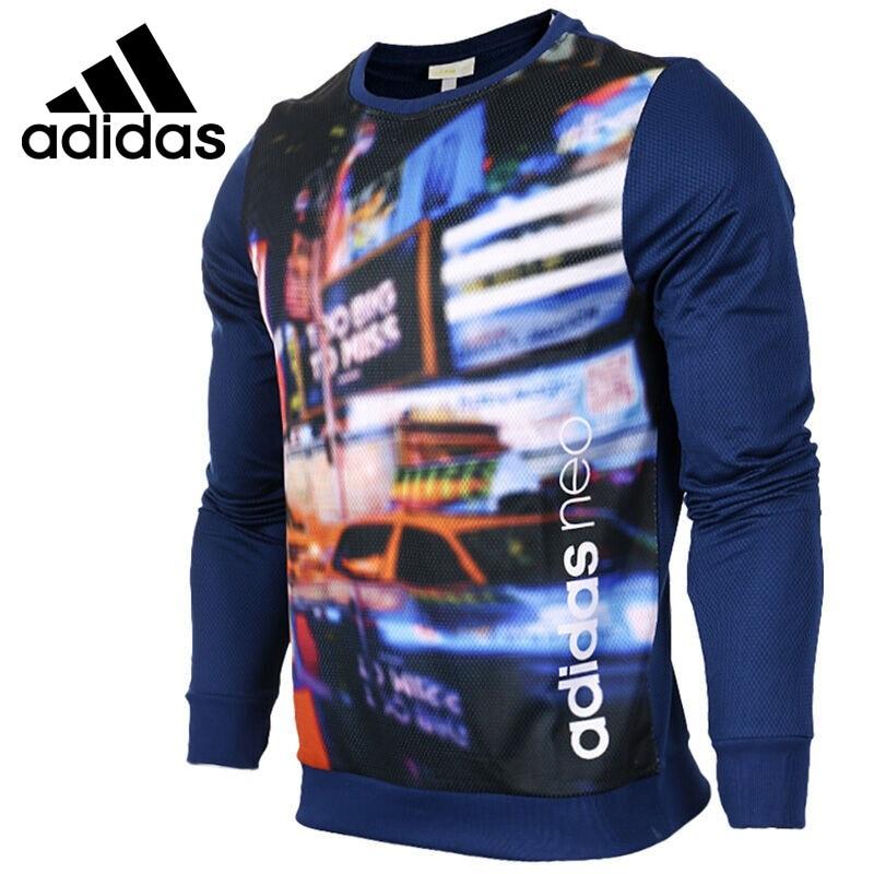Original New Arrival 2017 Adidas NEO Label M CS GR SWT Men's Pullover Jerseys Sportswear original new arrival official adidas neo label men s jacket hooded sportswear