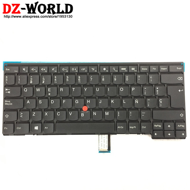 New Original for Thinkpad T440 T440S T431S T440P T450 T450S L440 L450 L460 Spanish Keyboard Teclado 04Y0872 04Y0834 0C02263 new keyboard for lenovo thinkpad t410 t420 x220 w510 w520 t510 t520 t400s x220t x220i qwerty latin spanish espanol hispanic