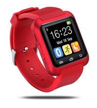 U80 Bluetooth Smart Uhr U8S Smartwatch Armbanduhr mit Schrittzähler Schlaf-Monitor für Samsung HTC Xiaomi Android Telefon