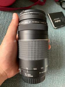 Image 4 - USED Canon EF 75 300mm f/4 5.6 III Telephoto Zoom Lens for Canon SLR Cameras