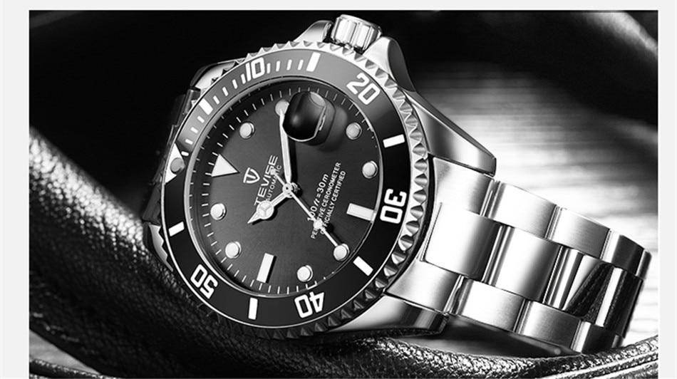 HTB1GIJDCgKTBuNkSne1q6yJoXXaB Tevise Luxury Waterproof Automatic Men Mechanical Watch Auto Date Full Steel Business Top Brand Man Watches Water Resistant T801