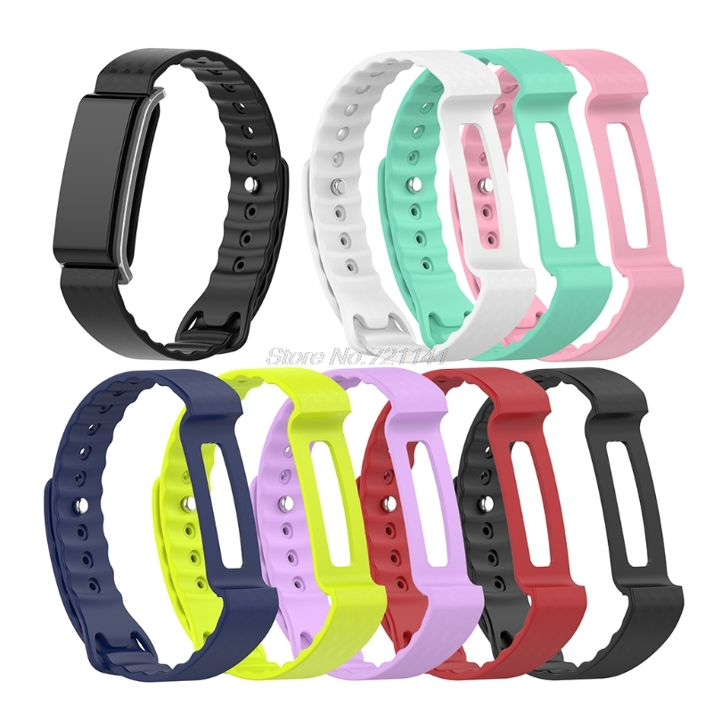 Replacement Fitness Tracker Accessories Bands Premium TPE Bracelet Strap Wristbands For Huawei Honor A2 Electronics Stocks