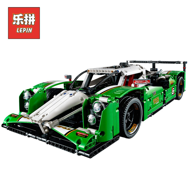 In Stock Lepin Sets 20003 1249Pcs Technic Figures 24 hours Race Car Model Building Kits Blocks Bricks Educational Kids Toy 42039 china brand 3364 educational toys for children diy building blocks 42039 technic 24 hours race car compatible with lego