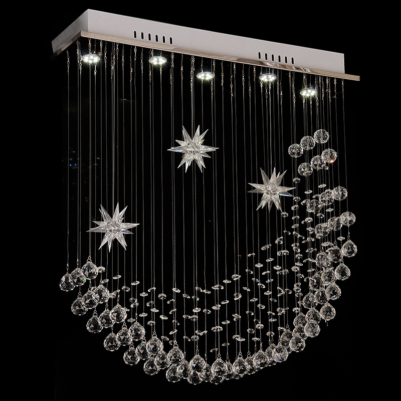Authentic LED 85-265 - v contracted crystalline light meal bedroom chandeliers rovertime rovertime rtm 85