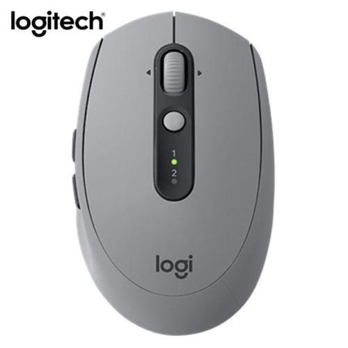 Logitech Gris M590 Silencieux Sans Fil Bluetooth Souris Double Mode Nano Récepteur sans boîte au détail