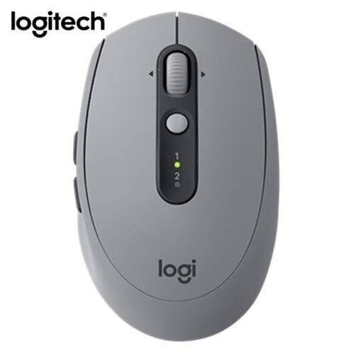 Logitech gris M590 silencieux sans fil Bluetooth souris double Mode Nano récepteur sans boîte de vente au détail