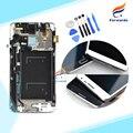 Nuevo lcd para samsung galaxy note 3 neo mini lite n7505 Asamblea de pantalla Táctil con Marco + Herramientas 1 unidades gratis publica