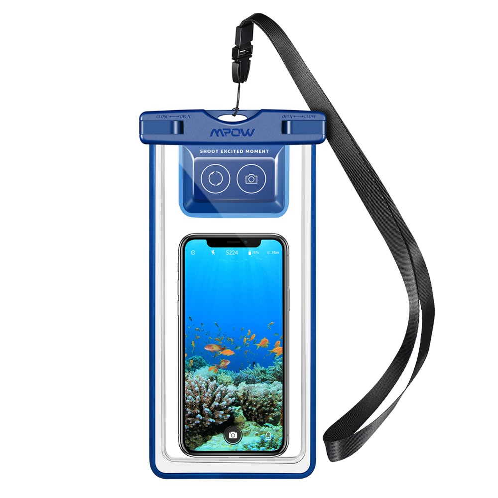 Mpow IPX8 Waterproof Phone Pouch Case Swimming Bag Underwater Dry Bag with Bluetooth Controller for iPhone X 8 pochette etanche Mpow IPX8 Waterproof Phone Pouch Case Swimming Bag Underwater Dry Bag with Bluetooth Controller for iPhone X 8 pochette etanche