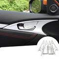 Inner Side Door Handle Bowl Cover Trim For Honda Civic 10th Gen 2016 2017 4pcs