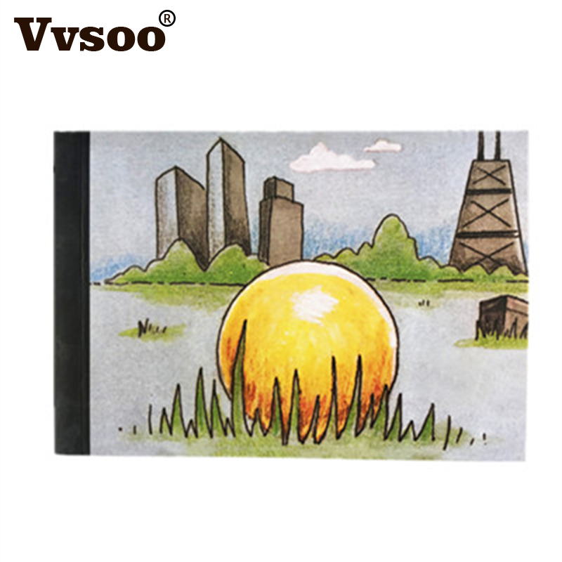 Vvsoo Creative Tendances BRICOLAGE Proposer Cadeau Flip Flap Livre Peut Cacher le Mariage Anneau Carton Flip Book