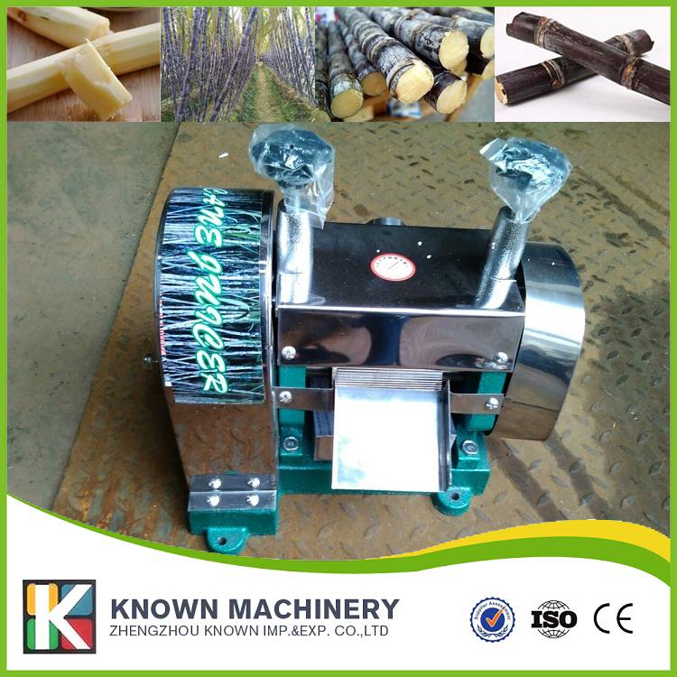 The best selling Manual KN SY250 Stainless steel sugarcane juicer machine sugar cane juicer free shipping by sea (CFR)