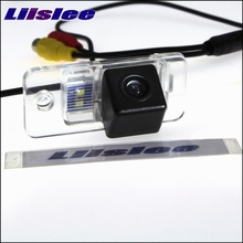 LiisLee Cámara de Visión Trasera Para Audi A3 S3 8 P A4 S4 RS4 B7 8E 8 H A6 4F C6 S6 RS6 Q7 SQ7 4L Mirar Hacia Atrás Cámara de Copia de seguridad de Visión Nocturna