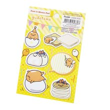 1 Pack/lot Kartun Mini Memo Pad Gudetama Lazy Telur Kitty Cat Stiker Buku Harian Yang Indah Catatan Bookmark Sekolah Office Supplies(China)