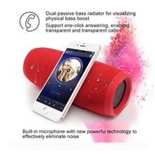 Портативный Открытый Беспроводной Bluetooth динамик супер бас динамик сабвуфер Водонепроницаемый IPX7 Charge3 Громкий динамик для телефона/ПК
