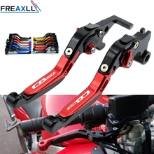 For Honda CB650F CB 650F CB 650 F CBR650F 2014 2015 2016 Levers Foldable Extendable Adjustable Motorcycle Brake Clutch Levers for honda cb600f cb650f hornet 2007 2013 cb 600f cb 650f motorbike adjustable folding extendable moto clutch brake levers