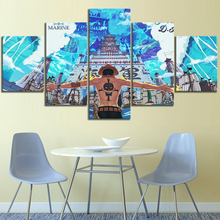 HD Print Painting Wall Art Canvas Anime Portgas D. Ace ONE PIECE Modern Home Decor Picture Printed Poster